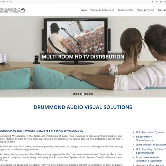 SEO Website Designers in West Dunbartonshire