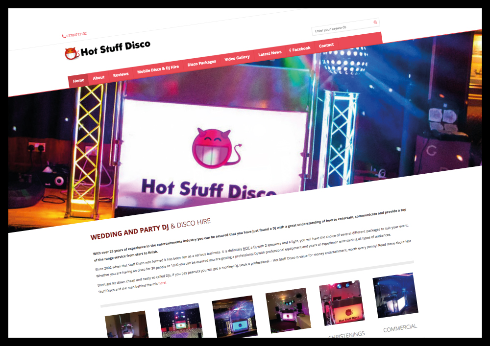Website Design for DJs